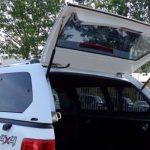 Hardtop Ford Ranger má pevný rám zadního okna – FM5