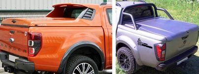 Ford Ranger - Víka fullboxy rolety