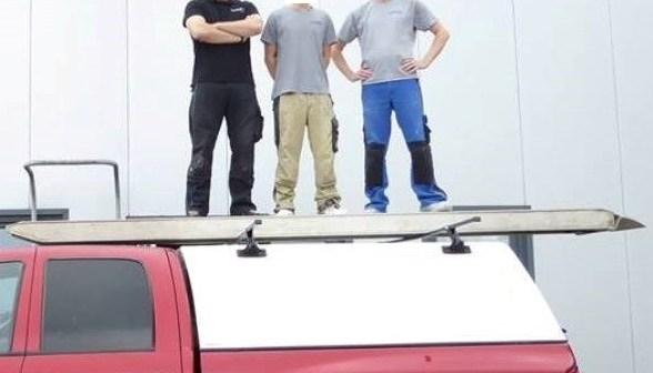Hardtop má nejvyšší nosnost střechy